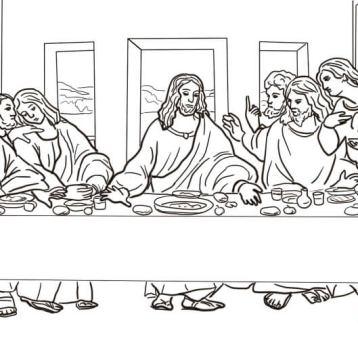 the-last-supper-by-leonardo-da-vinci-coloring-page
