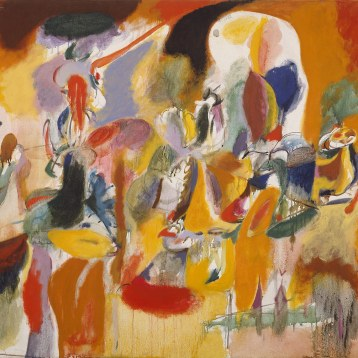Working Title/Artist: Arshike Gorky: Water of the Flowery Mill, 1944 Department: Modern Art Culture/Period/Location: HB/TOA Date Code: 11 Working Date: photographed by mma in 1986, transparency 1a scanned by film & media 6/14/04 (phc)